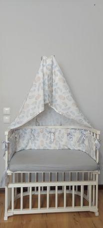 Продам детскую приставную кроватку