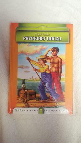 """Książka """"Przygody Hucka"""" - Mark Twain"""