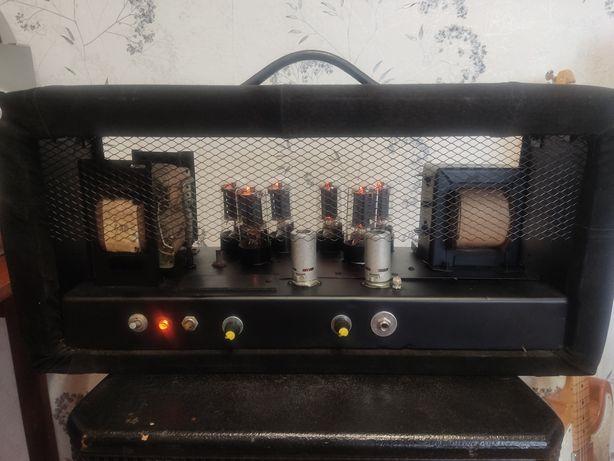 Ламповый винтажный гитарный усилитель на 6п3с 150Вт!
