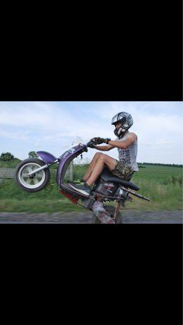 Yamaha vino 2 t stunt