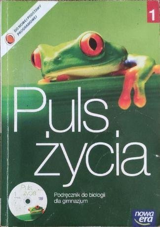"""""""Puls życia"""" część 1 podręcznik do biologii"""