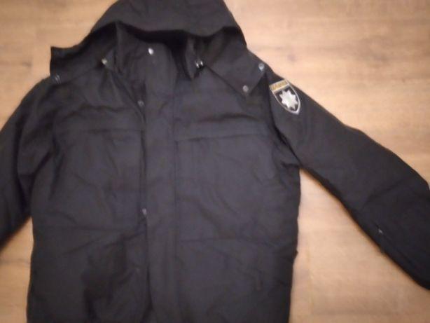 зимова нова куртка Національна поліція 52 р 750 гр