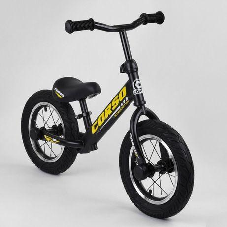 Металлический беговел ,велобег, велосипед без педалей Tilly Corso