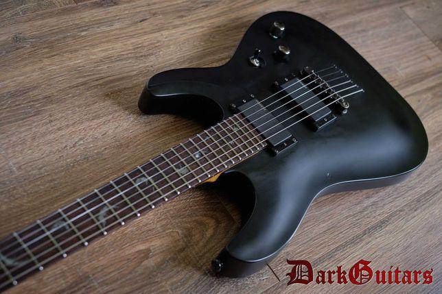 Gitara elektryczna Schecter Damien 6, superstrat, EMG, setup
