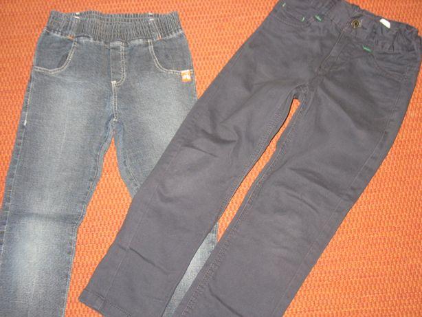 Jeansy dla chłopca roz. 122