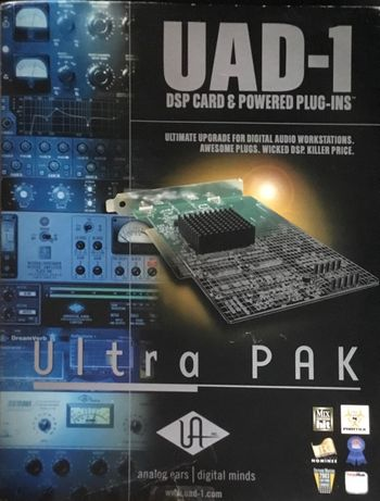 Universal Audio UAD-1 Ultra PAK - PCI DSP Card with UA Plug-Ins