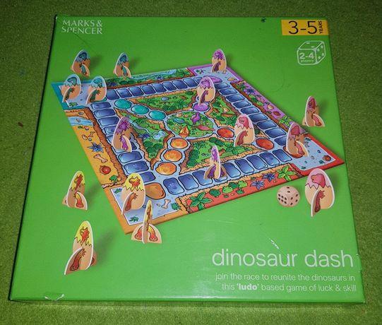 Gra planszowa Dinozaur Dash firmy Marks&Spencer