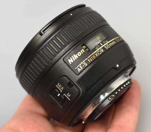 Objectiva Nikon 50mm f/1.4G AF-S