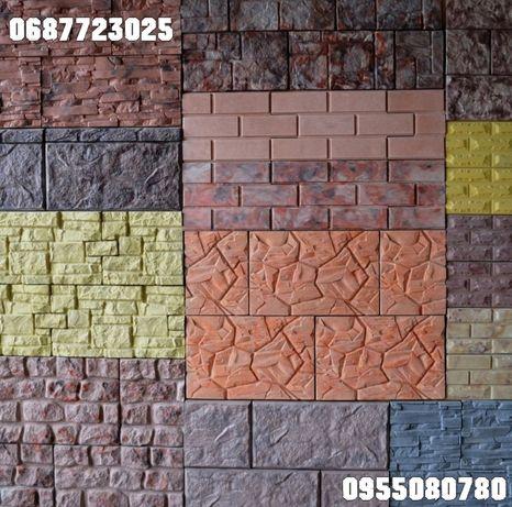 Облицовочная декоративная гипсовая плитка (стенная и потолочная)