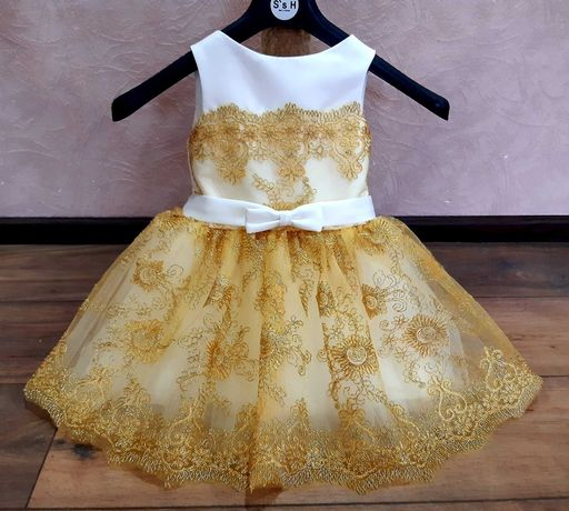 Бальное платье. Нарядное платье. Пышное платье. Детское платье