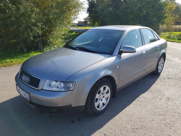 Audi A4 B6 1.6 MPI benzyna GAZ sedan 2002r zamiana