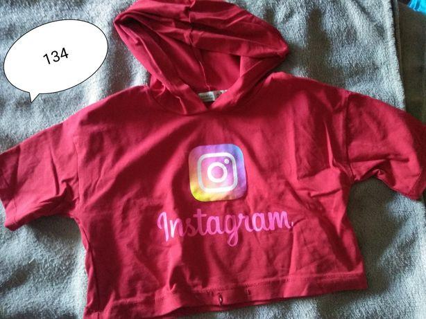 Krótka bluzka Instagram 134