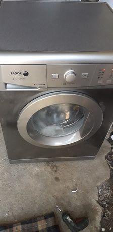Máquina  lavar roupa 6 kg A+A cinzenta