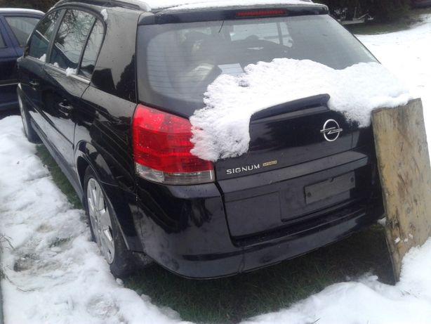 Opel Vectra C 3 Signum Zderzak Przód Z20R Halogeny Wiązka Kratka Chrom