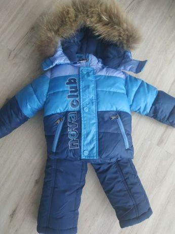 Комбинезон зимний курточка +штаны