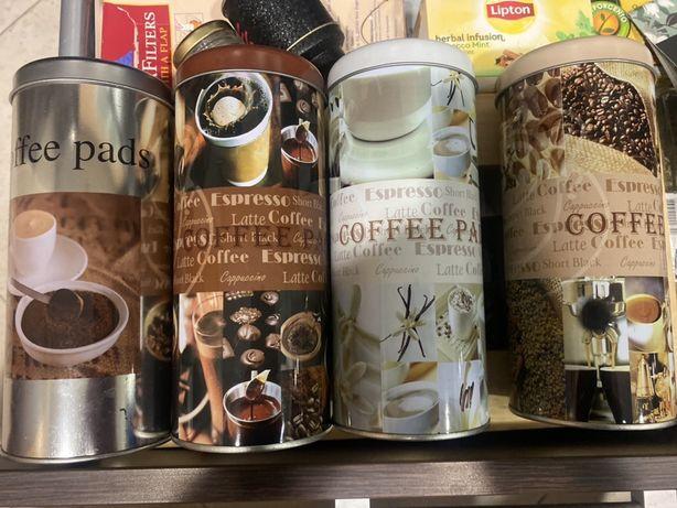4 Latas para cafe ou outros