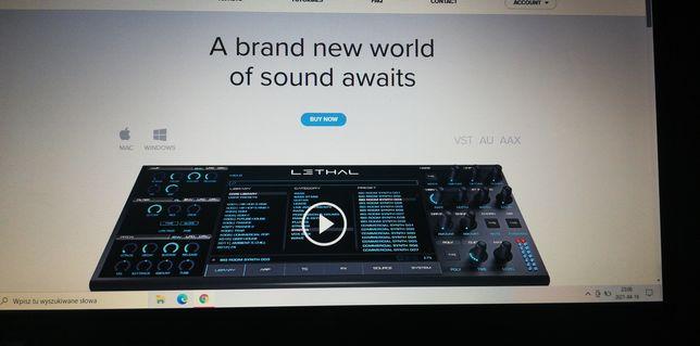Lethal audio +core library  syntezator vst