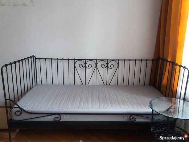 Oddam łóżko 1-os. z materacem