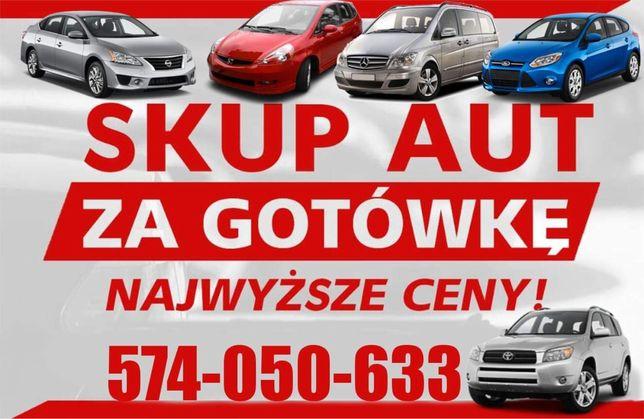 SKUP AUT samochodow kasacja złomowanie najlepsze ceny!!