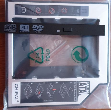 "Kieszeń na Dysk 2,5"" HDD SSD SATA 12,7mm"