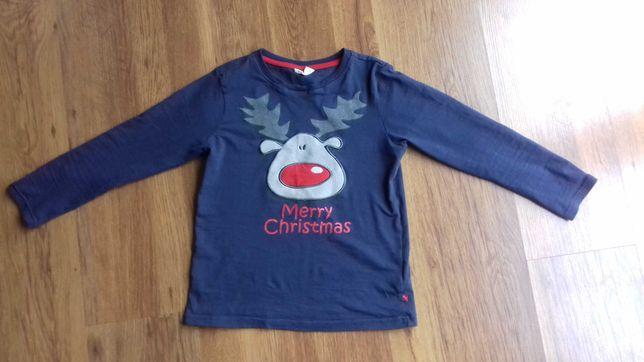 Świąteczna bluzka coccodrillo rozm. 128