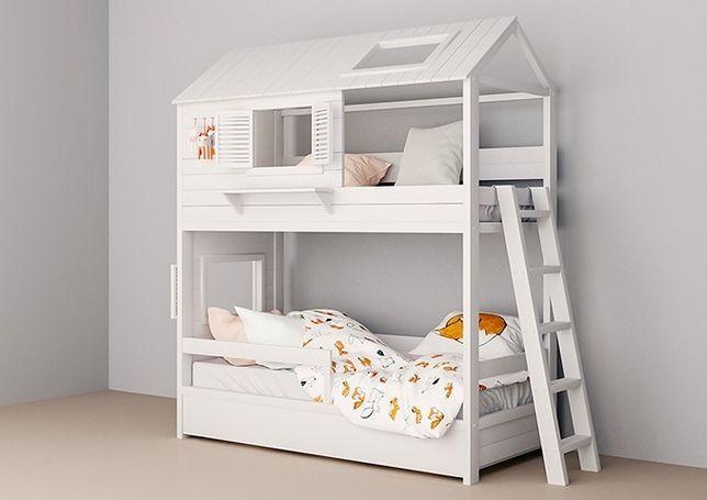 двухъярусная кровать домик Фантазия, двоповерхове ліжко, детская