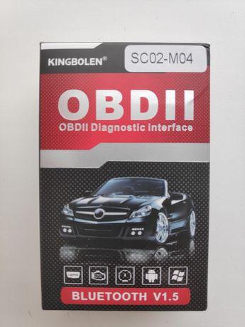 Автомобильный диагностический сканер ELM327 OBDII