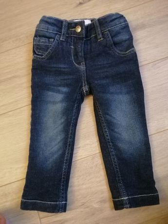 Утеплені джинси на дівчинку