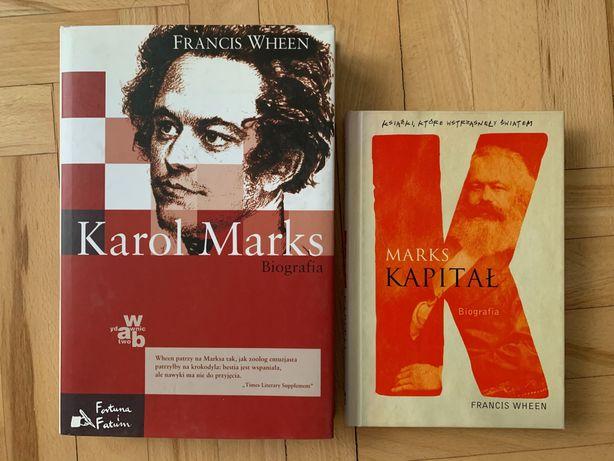 Karol Marks 2 książki Francis Wheen