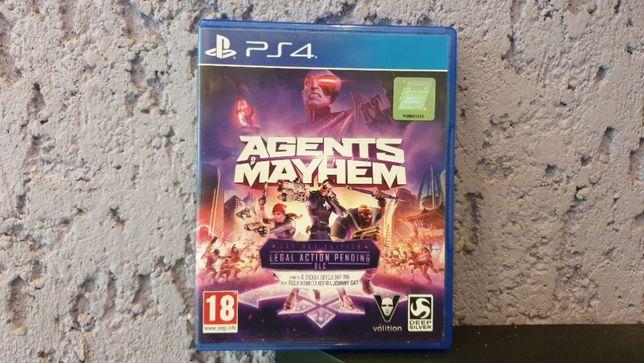 Agents of Mayhem / PS4 / PL / PlayStation 4