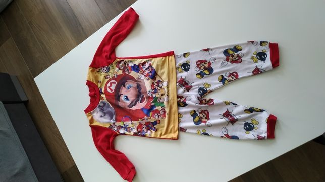 Piżama piżamka zestaw piżamek mix Super Mario, Lupilu, Cool Club 86 92