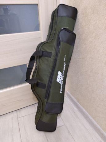 Чехол сумка для спиннингов удилищ 80 см 2 секции