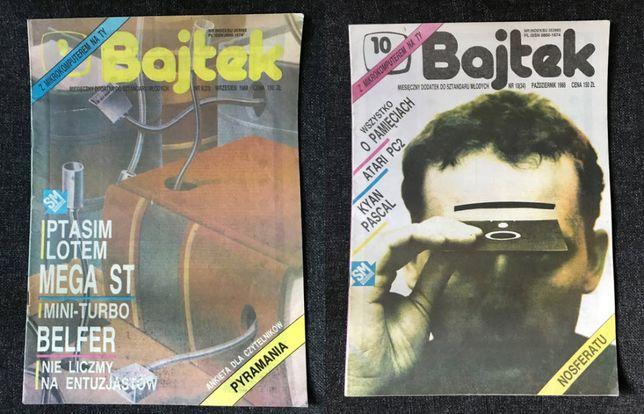 BAJTEK Czasopismo - 1988 nr 1-10 (brak 7)