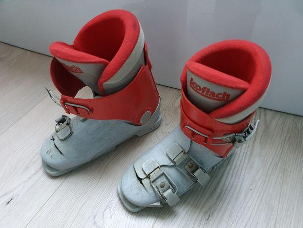 Buty narciarskie dziecięce rozm.32 skorupa ok.24-24.5cm