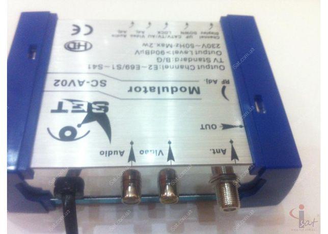Продам модулятор RF SET SC-AV02 на 2-69 канал