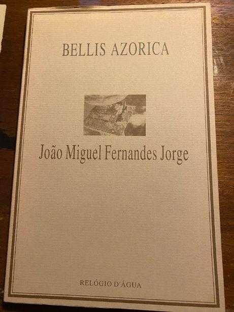 Bellis Azorica, de João Miguel Fernandes Jorge