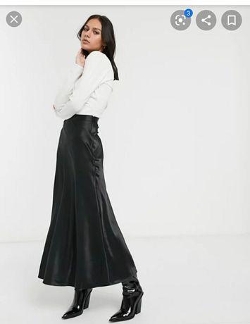 spódnica długa czarna Max