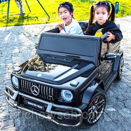 Двухместный детский электромобиль Джип M 4259, MERCEDES AMG G63, 4WD
