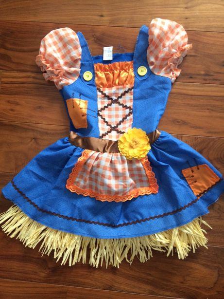 Sukienka wiosna Dorotki z krainy oz kowbojki