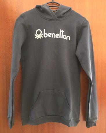 Sweat com capuz da Benetton para menina tamanho 2XL (11-12 anos)
