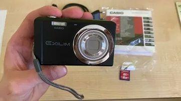 Aparat Cyfrowy Casio EXILILIM EX-ZS5 14.1 Mpx 5x zoom optyczny