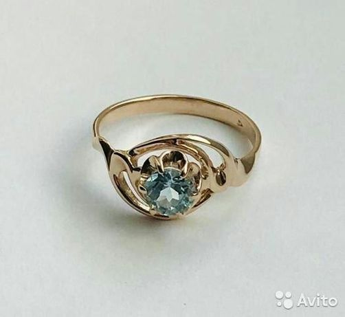 Продается золотое кольцо 583