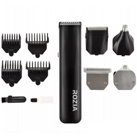 5 в 1 Машинка для стрижки волос, Триммер, электробритва Rozia HQ-5300