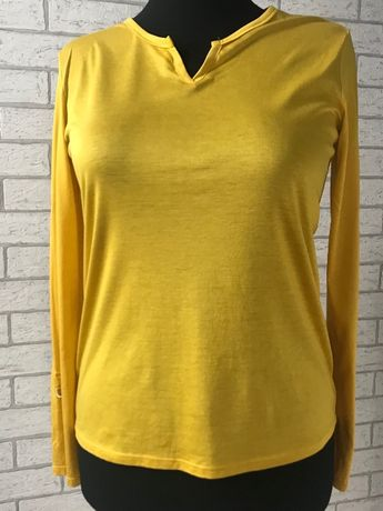 Massimo Dutti żółta bluzeczka, L
