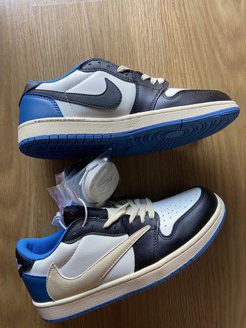Nike air jordan 1 low fragment x travis scott