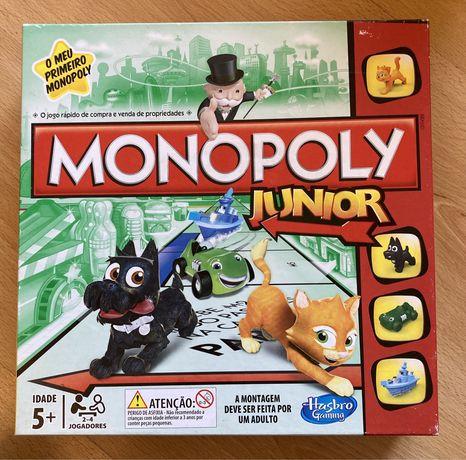Jogo Monopoly Junior