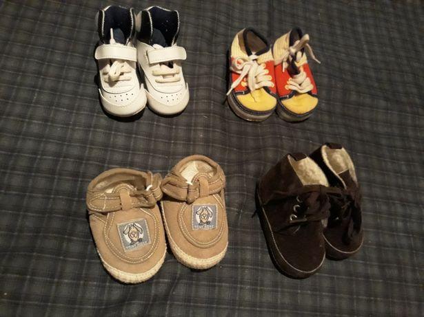 Conjunto 4 Pares Sapatos bebe