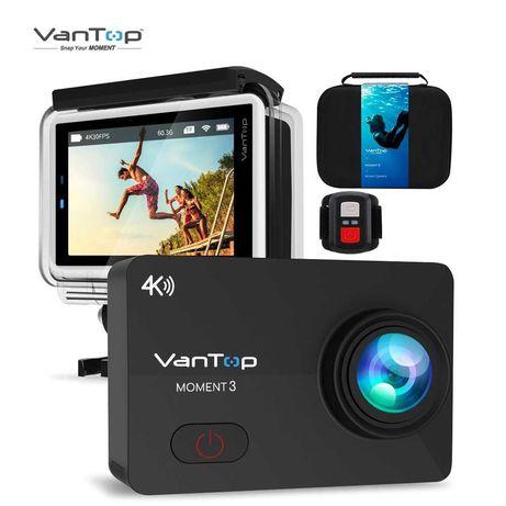 [NOVO] Câmera de Ação/Action Cam Vantop ULTRA HD 4K WiFi tipo GoPro