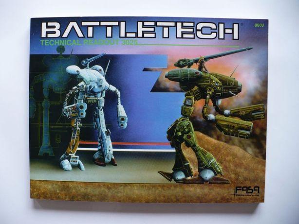 BattleTech Technical Readout: 3025, Blaine L. Pardoe 1986