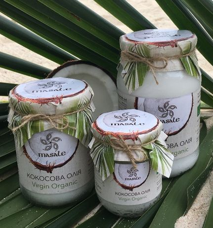 Кокосовое масло Organic Virgin
